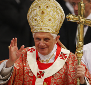Pope Benedict XVI has given his blessing for Catholic women to get vajazzles.